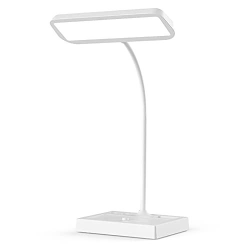 shu Lámparas de Escritorio, LED lámpara de Mesa, Atenuación Tricolor, para Oficina, Estudio, Lectura