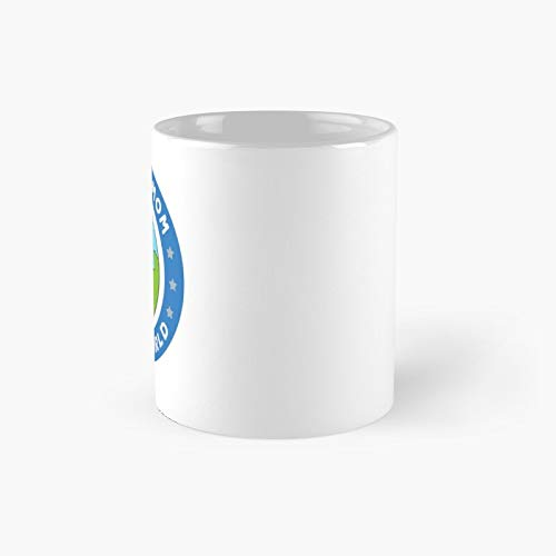 Bestest Mom In The World Classic Mug - A Novelty Ceramic Cups Inspirational Holiday Gifts For Morther's Day, Men & Women, Him Or Her, Mom, Dad, Sister, Brother, Coworkers, Bestie.