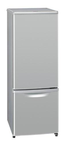 パナソニック 168L 2ドア パーソナルタイプ 冷蔵庫 シルバー NR-B174W-S
