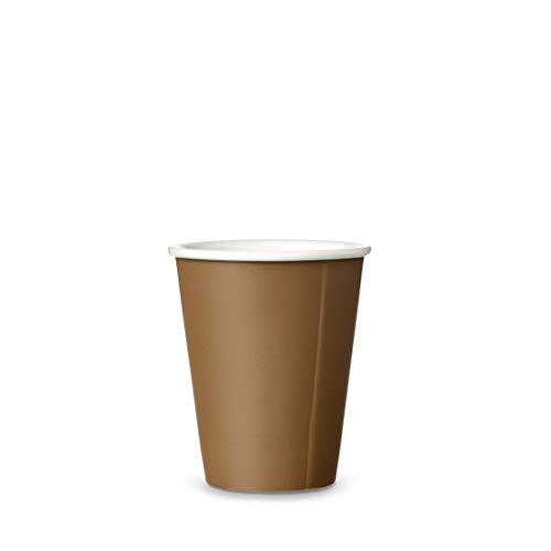 Viva Scandinavia Tasse à thé en Porcelaine, gobelet de café, Design Moderne, 200 ML, Beige