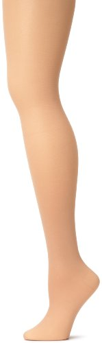 Capezio Women's Hold & Stretch Footed Tight,Light Suntan,Small