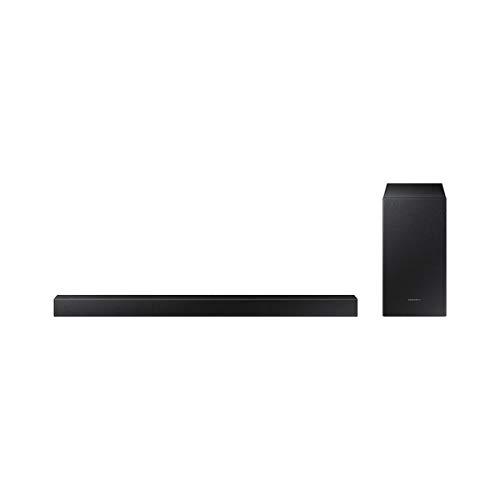 Samsung HW-T450 - Soundbar-Lautsprecher (2.1 Kanäle, 300 W, DTS,Dolby Digital, Aktiver Subwoofer, Verkabelt & Kabellos)