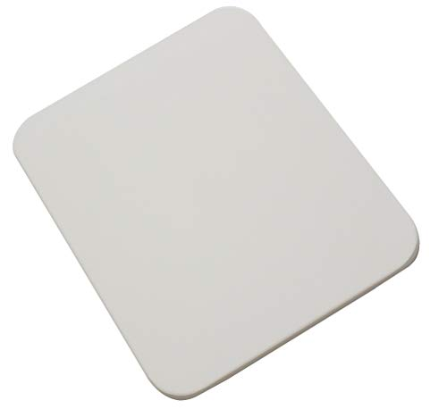 Homesicker - Plato de piedra para pizza para horno y parrillas (rectangular, 30,5 x 38,1 cm)