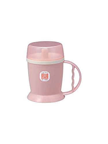 台和 プチエイド HS-N12 吸い口付きマグカップ (ピンク) 360ml 電子レンジ可