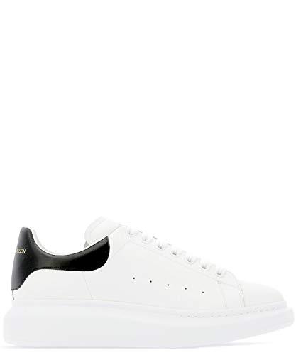 Alexander McQueen Luxury Fashion Herren 553680WHGP59061 Weiss Leder Sneakers | Jahreszeit Permanent