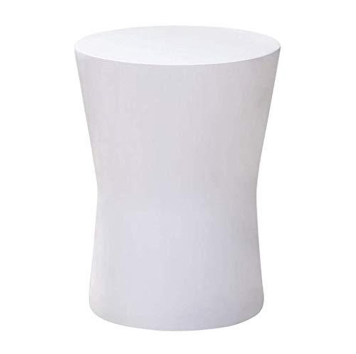 HYY-YY Esquina pequeña mesa de centro de esquina Nórdico Minimalista Mini Mesa blanca Sala de estar Mesa de noche extraíble