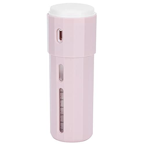 Uxsiya 3 en 1 champú contenedor rosa botella de viaje loción envase ambiental PF botella interior capacidad: 50 ml 50 ml dispensador de viaje para actividades al aire libre