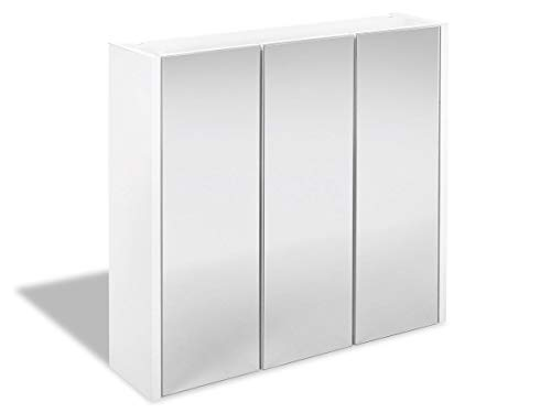 Livarno Spiegelschrank 66 x 60 x 17cm Made in Gemany Zeitlos mit 3 Türen