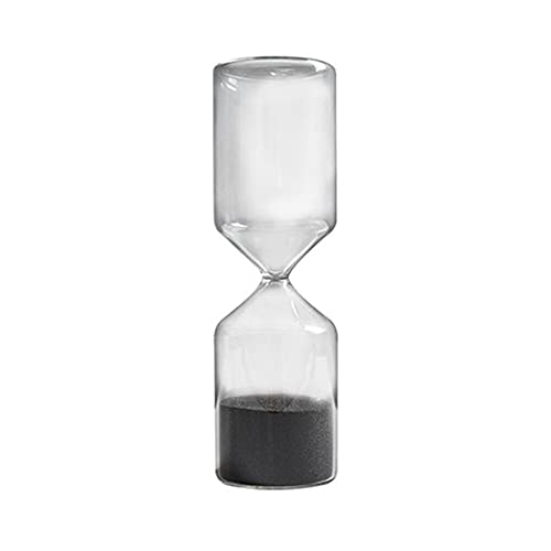 WSJQWHW Hourglass, Nordic Decorations, 15-minute Timer Hourglass, Glass Hourglass, Can Be Used for Desks, Study Decorations