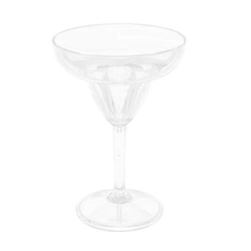 Milageto 330 220ml Acrílico Transparente Margarita Copa Copa De Cóctel Suave Fácil De Limpiar - Transparente 330ml
