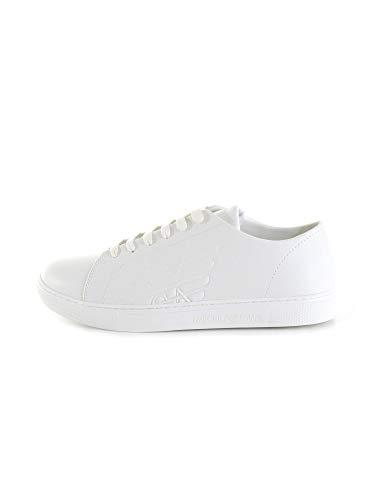 Emporio Armani Herren Sneaker Weiss (10) 6