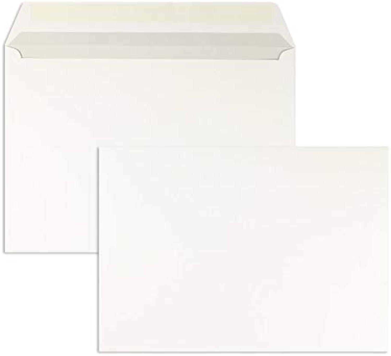 Blanke Blanke Blanke Briefhüllen, KuGrünierhüllen, Nassklebung, Gerade Klappe, Ohne Fenster, DIN B4, 120 g qm Offset, 250 Stück, Weiß B07HP76CLF | Verschiedene Stile und Stile  2b7f93