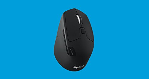 Logitech M720 Triathalon Multi-Device Wireless Mouse – Easily Move Text, Images and Files Between 3 Windows and Apple Mac Computers...