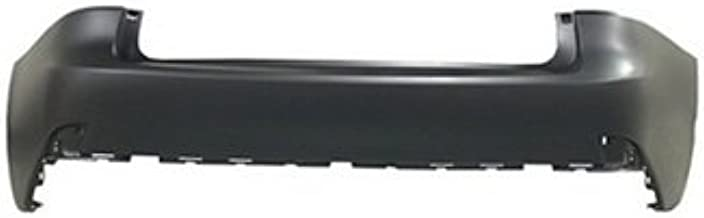 New Rear Bumper Cover For 2014-2015 Lexus Is250 And 2014-2016 Lexus Is350 Sedan Models, Without Park Assist Sensor Holes, Primed LX1100168