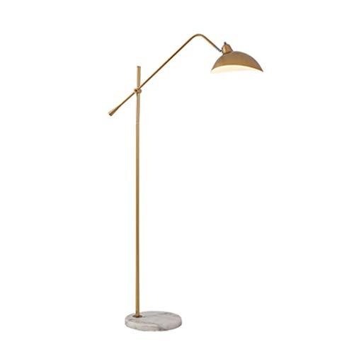 YQGOO Floor lamp Swing Arm Floor Lamp, Adjustable Floor Light, Industrial Vintage Retro Standing Lamp, for Living Room Bedroom Office Floor Light (Color : Black)