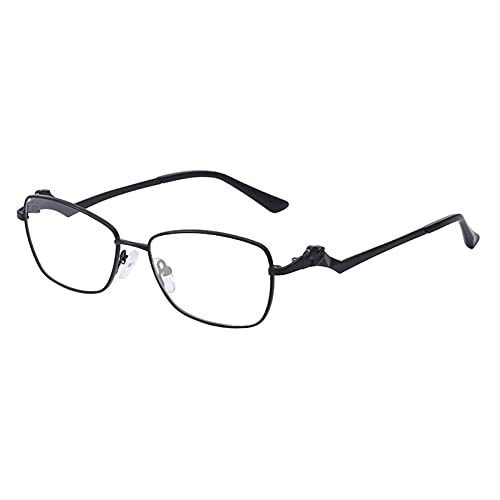 AMFG Marco de gafas de marco pequeño de espejo plano. (Color : E, Size : M)