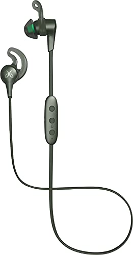 Jaybird X4 Wireless Bluetooth Headphones for Sport Fitness and Running, Compatible with iOS and Android Smartphones: Sweatproof and Waterproof - Alpha Metallic/Jade (Renewed)