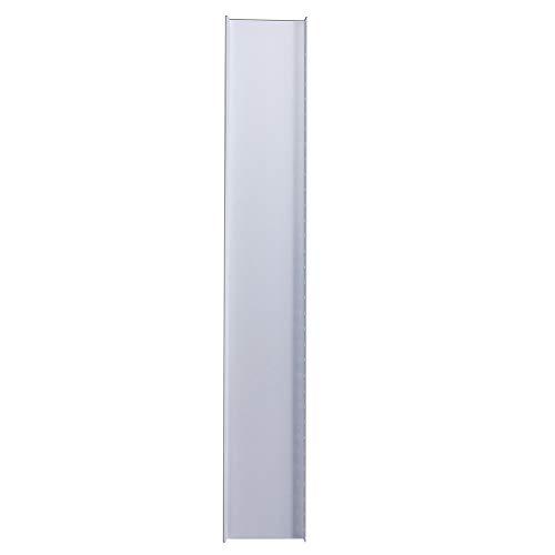 WFZ17 - Kit de placa de aire acondicionado, 2 piezas, 84 – 120 cm, placa ajustable para ventana de aire acondicionado portátil multicolor