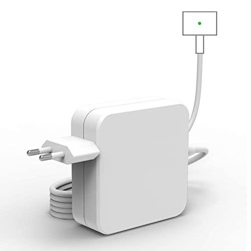 Cargador Compatible con Mac Book Pro, Cargador Magnético de Repuesto 60W 2 T-Tip Fuente de Alimentación Compatible con Mac Book Pro Retina de 13' y Mac Book Air (después de 2012) A1435, A1502, A1425