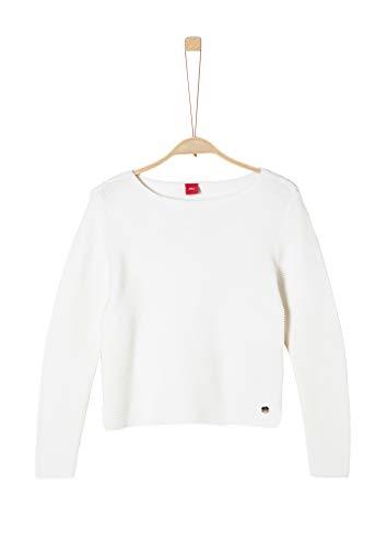 s.Oliver Junior Mädchen 401.12.008.17.170.2042386 Pullover, Cream, XL/REG