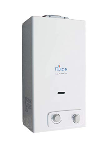 TTulpe Propangas-Durchlauferhitzer Indoor B11 P37 Eco, 1.5 V, Weiß
