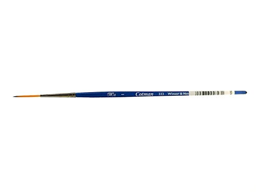 Winsor & Newton Cotman Water Colour Series 333 Short Handle Synthetic Brush - Rigger #1