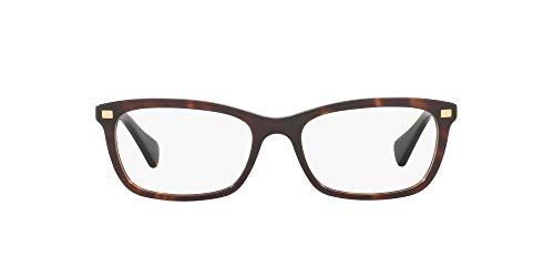 Ralph Lauren RALPH BY 0RA7089 Monturas de gafas, Dark Havana, 53 para Mujer
