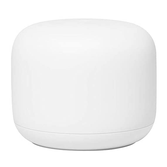 Google Nest Wi-Fi Router - 1-Pack (GA00595-US) with 2-Pack WiFi Smart Plug & Ethernet Cable 2 MEET the NEW NEST WiFi. Smarter Whole Home MESH Coverage   STRONG CONNECTION. EVERY DIRECTION. The Nest Wifi router and point work together to blanket your whole home in fast, reliable Wi-Fi and eliminate buffering in every room Parental permissions let you set schedules to manage screen time, restrict certain kinds of adult content, and pause Wi-Fi to specific devices whenever you want