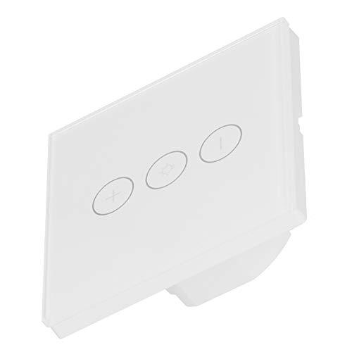Interruptor inteligente WiFi, interruptor de luz con atenuador inteligente, hogar con control de voz manos libres para ventilador doméstico