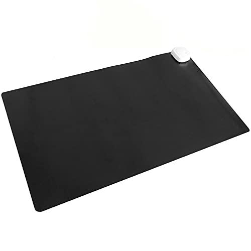 PrimeMatik - Alfombra y Superficie térmica con calefacción para Escritorio Suelo y pies de 60 x 36...
