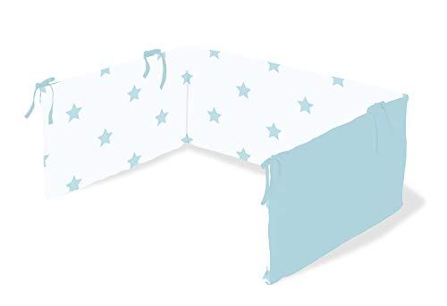 Pinolino 650022-2 Nestchen für Kinderbetten 'Sternchen', blau