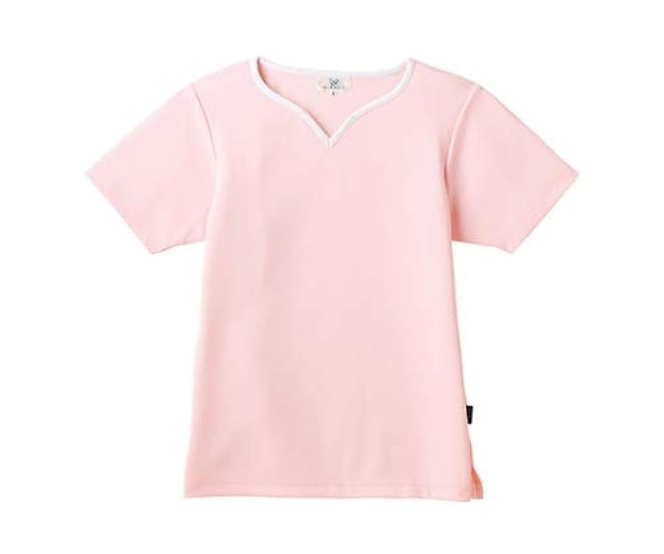 不正確現実大宇宙トンボ/KIRAKU レディス入浴介助用シャツ CR161 L ピンク