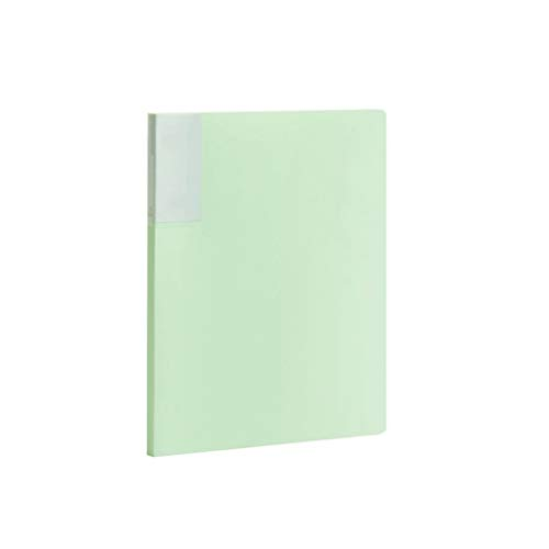 YKW Carpeta Carpeta A4 Libro de Datos de Carpetas de Varias páginas de inserción del Estudiante Resultado del Examen Carpeta 236x310MM 1PCS (Color : E)