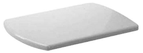 Duravit Serie Caro WC Sitz Deckel Klodeckel Scharnier Edelstahl weiß