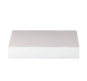 Base per Torta Rettangolare in polistirolo per Cake Design Altezza 5 cm, Base a Scelta (Base 30x40 cm)