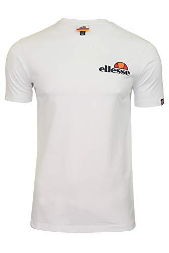 Ellesse Voodoo T-Shirt Camiseta, Hombre, Blanco (White), S