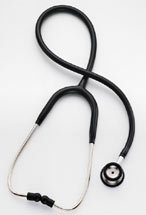 Learn More About Professional Pediatric Stethoscope by Welch Allyn, 28 in Black