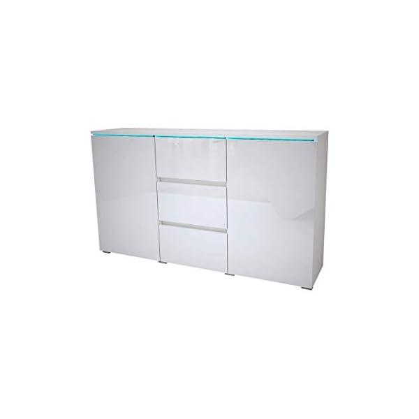 Euphoria Modern Sideboard, White