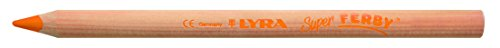 Lyra Super Ferby naturali 12matite colorate con astuccio di cartone Orange