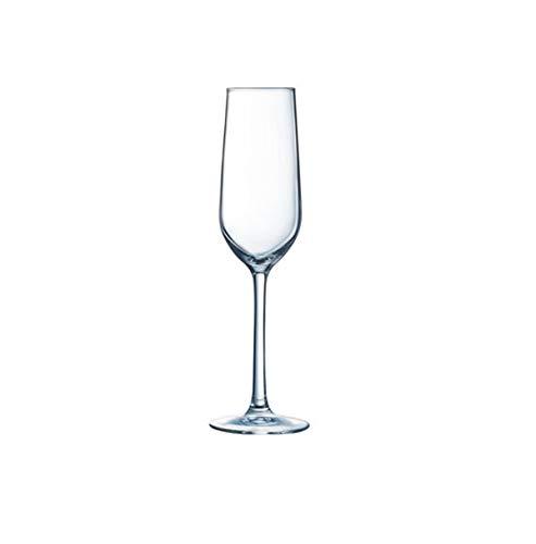 Visiodirect Lot de 24 Flûtes à Champagne Domaine - 16 cl