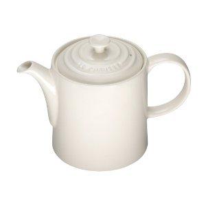 Le Creuset Steinzeug Teekanne Mandel - 9101101368 Le Creuset - UK IMPORT