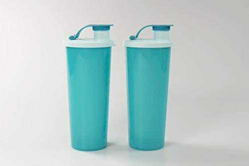 Tupperware To Go Eco 470 ml Turquesa con Cierre de Clip (2) 37121