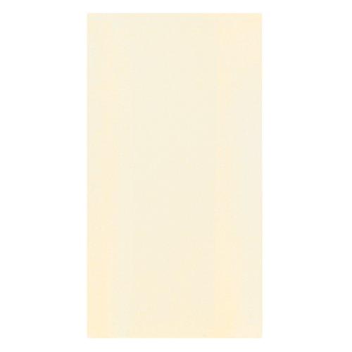 """Hoffmaster 856803 Linen-Like Guest Towel, 1/6 Fold, 17"""" Length x 11"""" Width, Ecru (Case of 500)"""