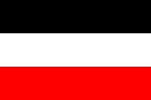 U24 Motorradflagge Deutsches Reich Fahne Flagge 20 x 30 cm