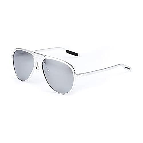 MIZUKOO Gafas de Sol Polarizadas Unisex Modelo YAKUZA Silver / Mirror