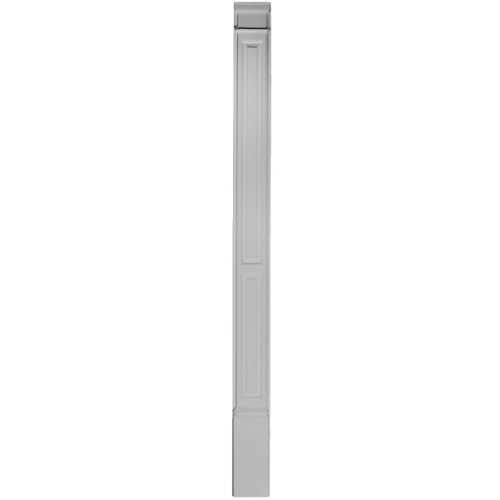 Ekena Millwork PIL07X90X02DP 7-Inch W x 87-Inch H x 2 3/8-Inch P Double Raised Panel Trimmable by 12-Inch