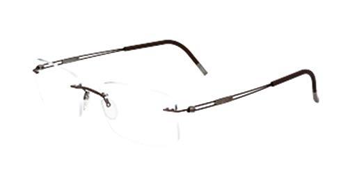 Eyeglasses Silhouette TNG 2018 (5521) 6140 Chestnut Brown 49/19/145 3 piece fr