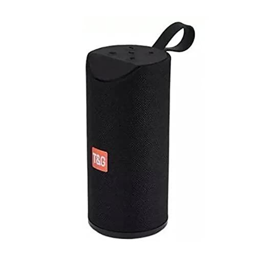 Altavoz Bluetooth Portátil TG-113A 10W 500mAh Sonido Envolvente Sonido 3D Superbass IPX5 Waterproof (Negro)