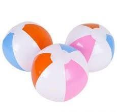Inflatable Beach Ball ~ Approx 30cm