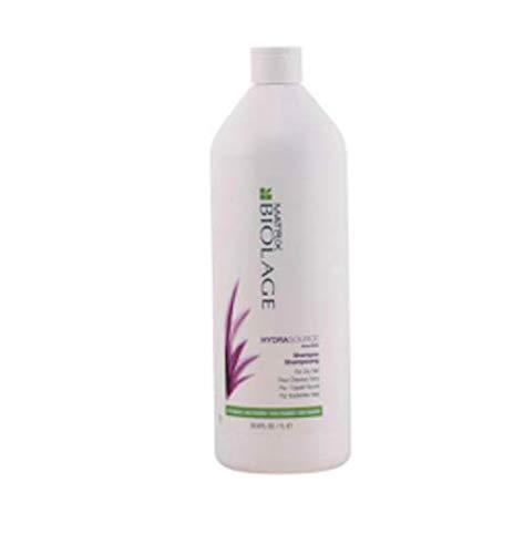 BIOLAGE Hydrasource Shampoo | Hydrates & Moisturizes Dry Hair | Paraben-Free | For Dry Hair | 33.8 Fl. Oz.